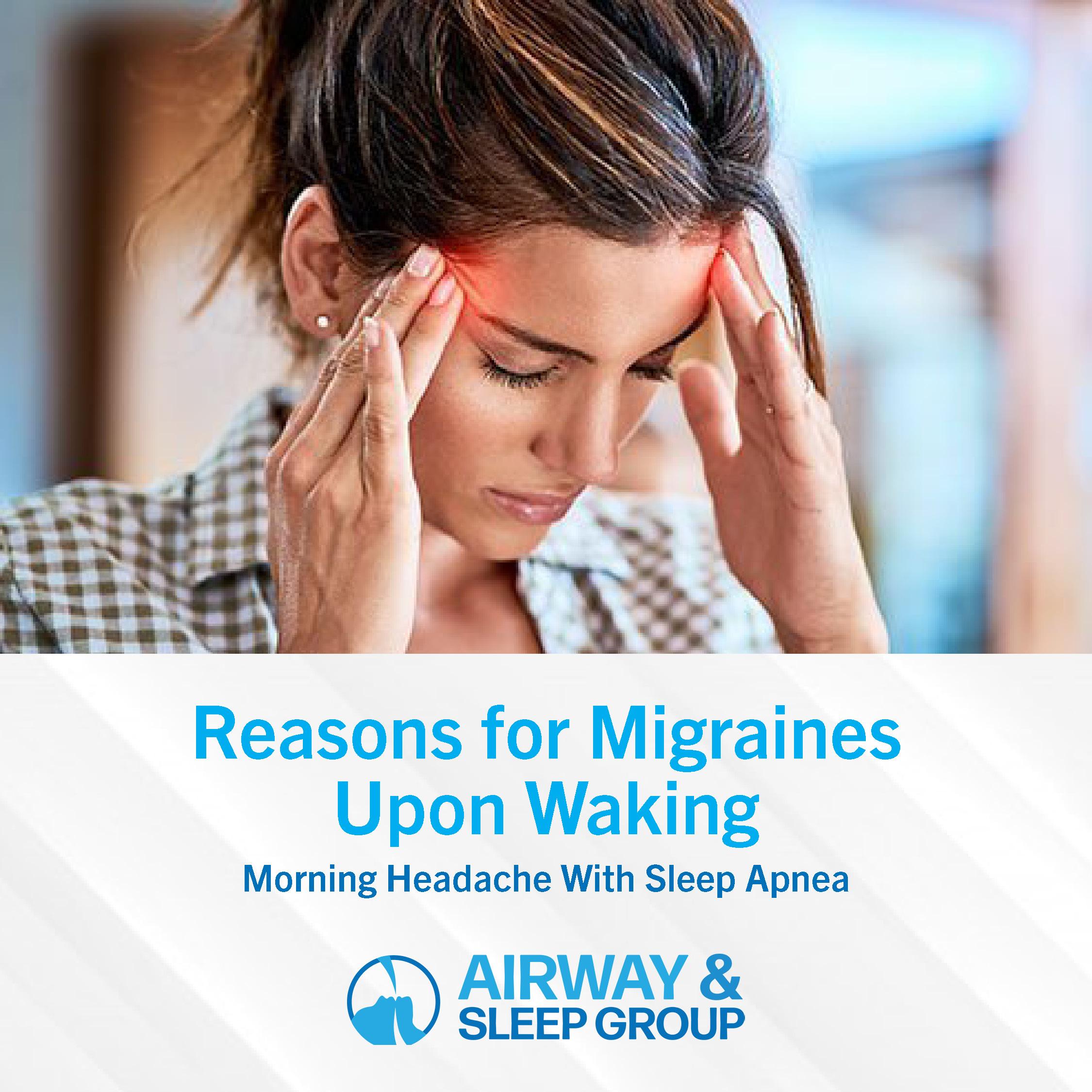 Morning Headache with Sleep Apnea