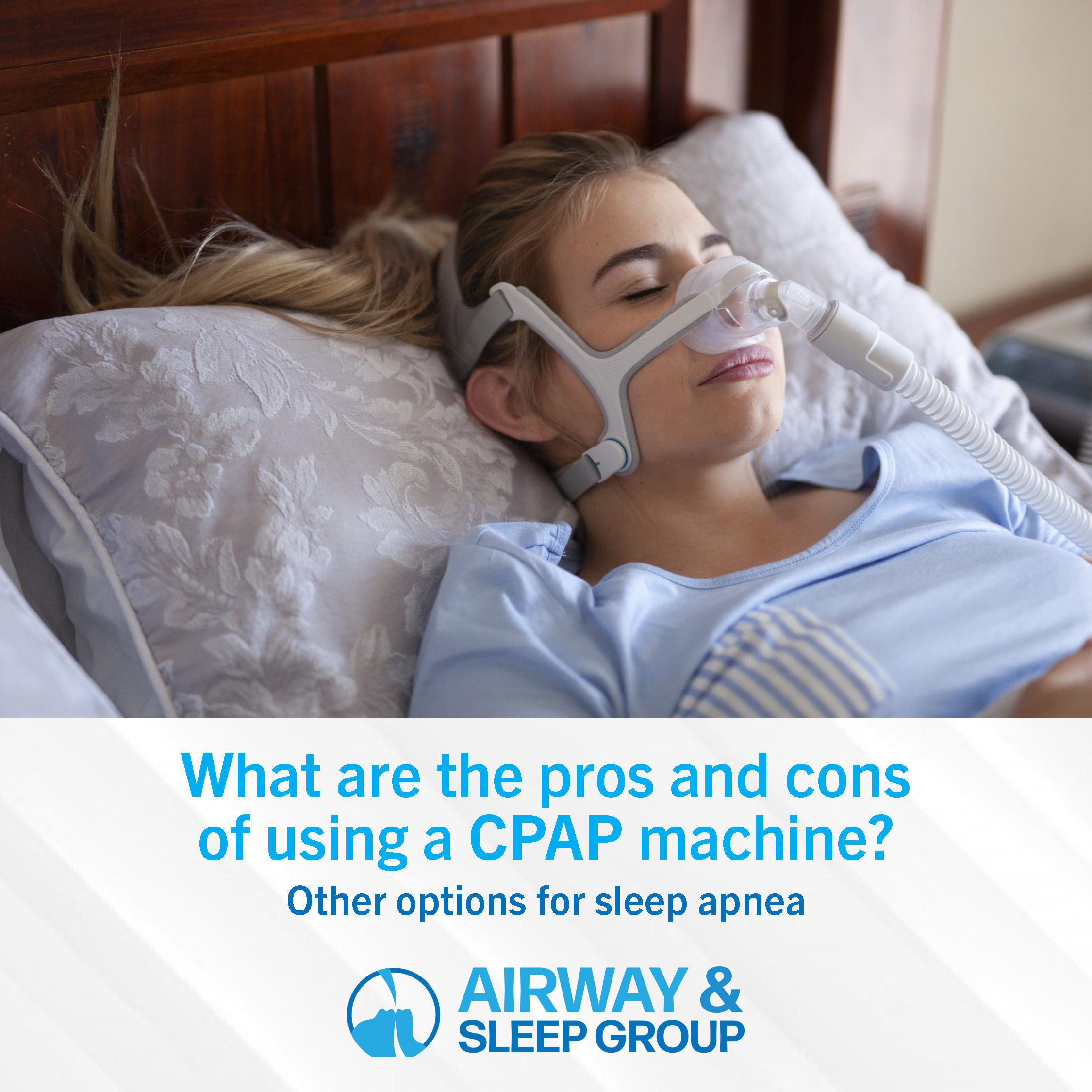 What are the pros and cons of using a CPAP machine?