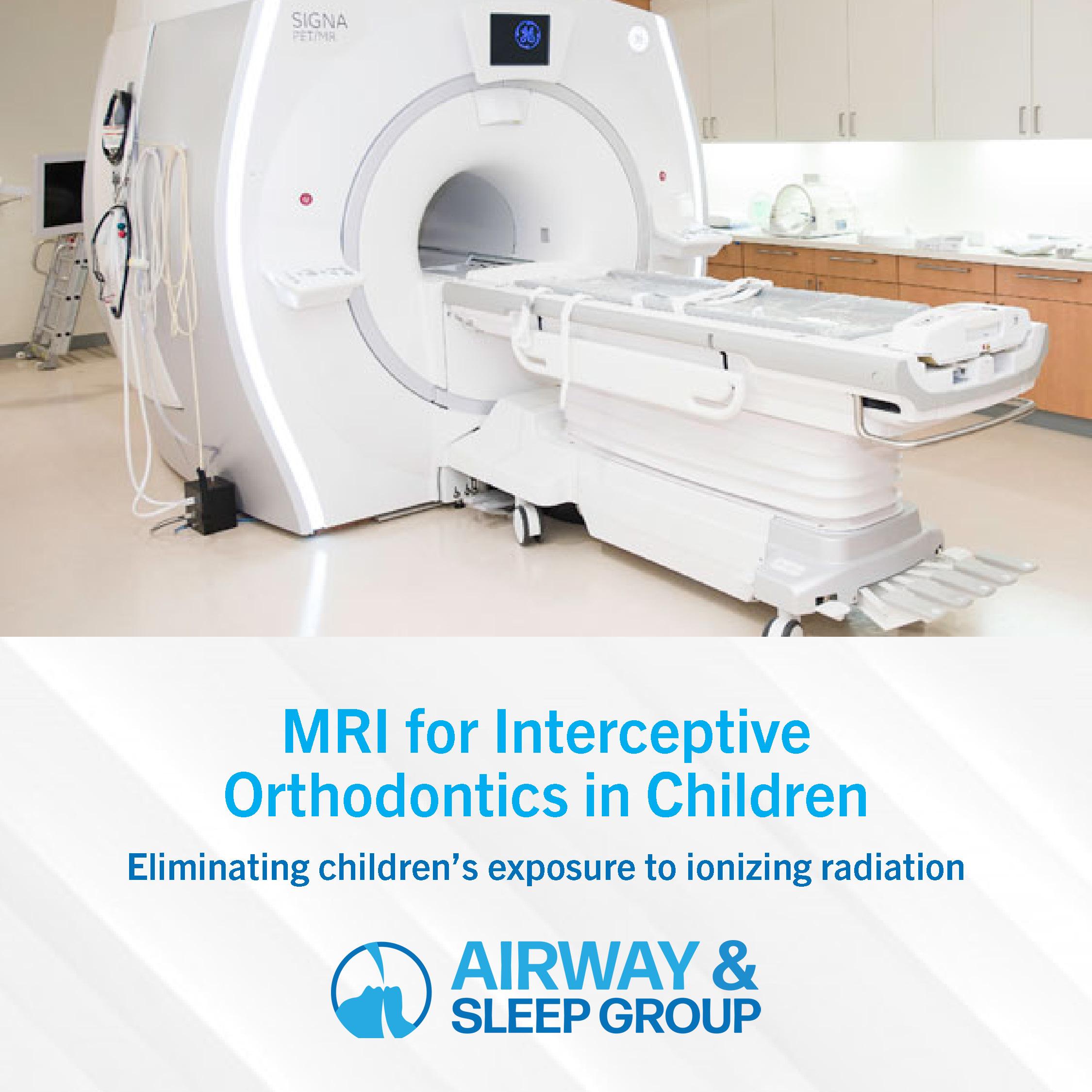 MRI for Orthodontics